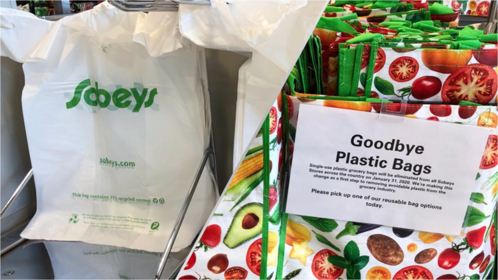 Sobeys Bans plastic bags